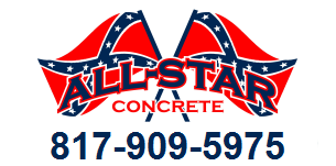 All Star Concrete concrete truck splash blocks Dallas Fort Worth Texas