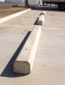 Concrete Splash Blocks & Concrete Parking Bumpers Fort Worth Texas Concrete Wheel Stops Fort Worth
